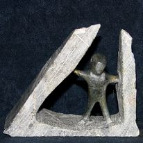 Speckstein, Kunsthandwerk, Skulptur, Depression