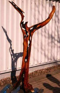 Obstbaum, Skulptur, Plastik