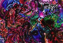 Surreal, Psychedelisch, Malerei