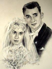 Zeichnungen, Portrait,