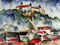 Aquarellmalerei, Kulmbach, Malerei