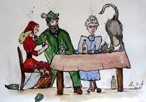 Karikatur, Malerei, Märchen