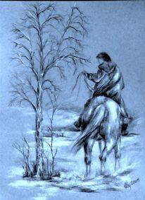 Pferdezeichnung, Pferde, Malerei