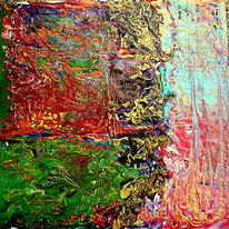 Malerei, Donner, Wind