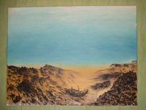 Malerei, Abstrakt, Tal