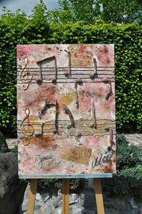 Malerei, Abstrakt, Tod, Lied