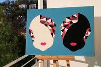 Weiß, Schwestern, Schwarz, Malerei
