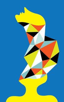 Vetorgraphic, Modern, Grafik, Acrylmalerei