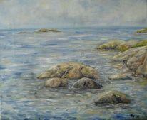 Meer, Schweden, Stein, Wasser