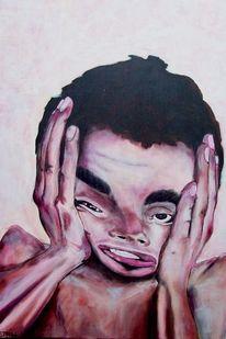 Akt, Portrait, Malerei
