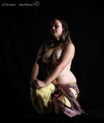 Hocken, Plus size, Harem, Model