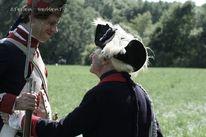 Reenactment, Schlacht, Frankreich, Schwarzpulver