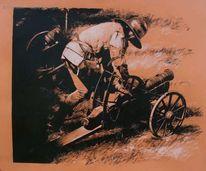 Rüstung, Atelier, Bernauer, Zeichnung