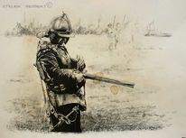 Musketiere, Krieg, Reenactment, Geschichte