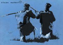 Sachsen, Black powder, Armee, Jäger