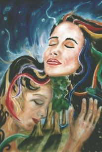Welten, Engel, Verständnis, Wald