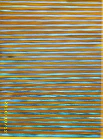 Acrylmalerei, Abstrakt, Rostart, Mischtechnik