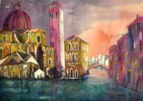 Acquarello, Gebäude, Cannareggio, Acquarello venezia