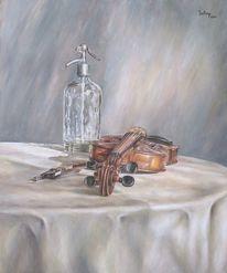Violine, Braun, Glas, Alt