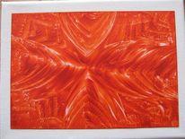 Malerei, Abstrakt, Muster