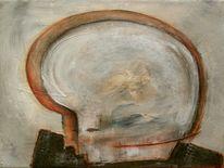 Kopf, Acrylmalerei, Malerei