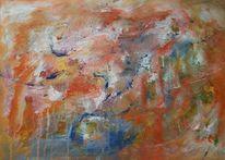 Acrylmalerei, Abstrakt, Mix, Malerei