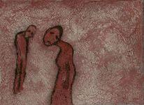 Acrylmalerei, Figur, Malerei, Malerei 2012