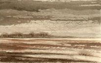 Aquarellmalerei, Landschaft, Aquarell
