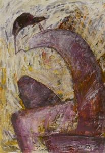 Figur, Acrylmalerei, Malerei