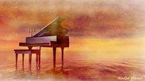 Romantisch, Musik, Liebesbeweis, Meer