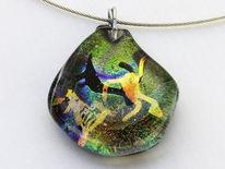 Modeschmuck aus glas, Fusingglas, Glas, Kunsthandwerk