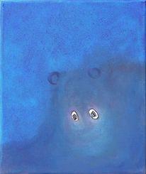 Blau, Tiere, Wasser, Vieh