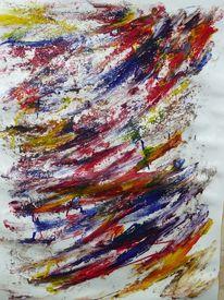 Abstrakt, Asche, Malerei