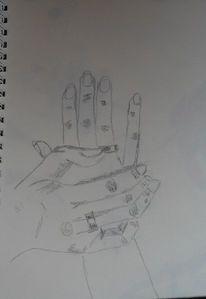 Zeichnungen, Hände