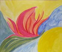 Muschel, Acrylmalerei, Malerei