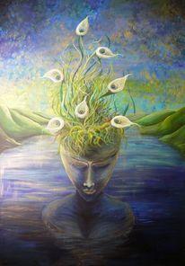 Fantasie, Malerei, Erwartung,