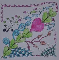 Fantasie, Zeichnung, Gekritzel, Freude
