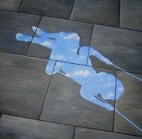 Tagträumen, Menschen, Ölmalerei, Himmel