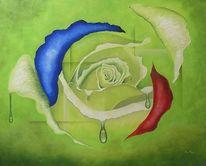 Ölmalerei, Surreal, Tagträumen, Malerei