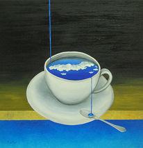 Surreal, Tagträumen, Philosophie, Kaffee