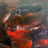 Abstrakt, Abstrakter expressionismus, Malerei,