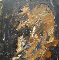 Informel, Abstrakt, Holz, Abstrakter expressionismus