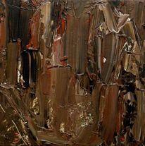 Acrylmalerei, Holz, Abstrakter expressionismus, Informel