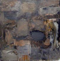 Sand, Acrylmalerei, Informel, Abstrakt