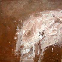 Holz, Schädel, Informel, Expressionismus