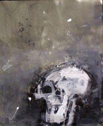 Informel, Abstrakt, Holz, Acrylmalerei