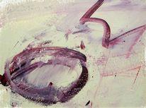 Abstrakt, Abstrakter expressionismus, Informel, Acrylmalerei