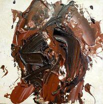 Abstrakt, Abstrakter expressionismus, Acrylmalerei, Holz