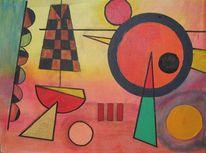 Kadinsky, Geometrie, Malerei, Abstrakt