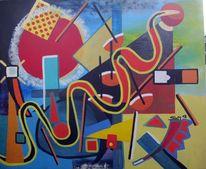 Kadinsky, Sam12, Tsunami, Malerei